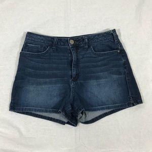 Lauren Conrad dark was denim shorts